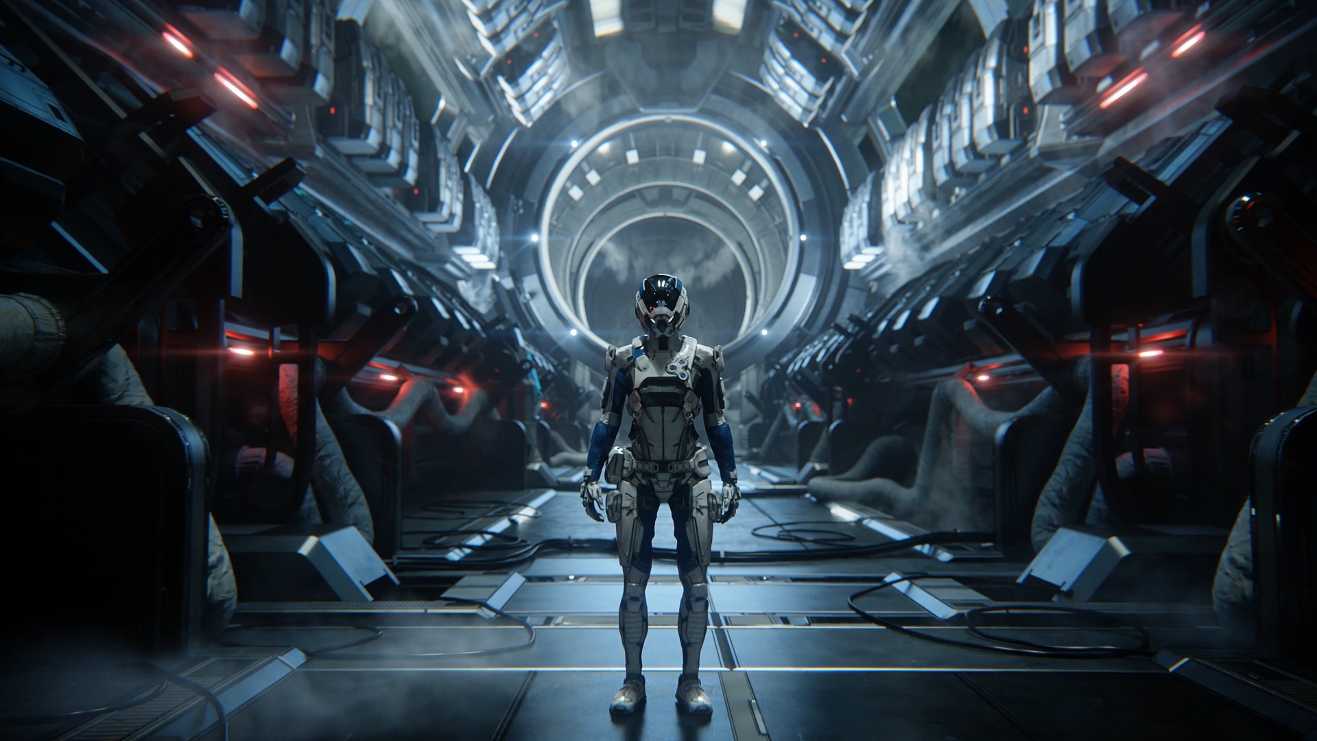 Mass Effect Andromeda Initiative Briefing Trailers Laurent
